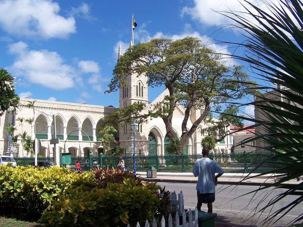 Things to do in Barbados: Parliament Buildings Bridgetown