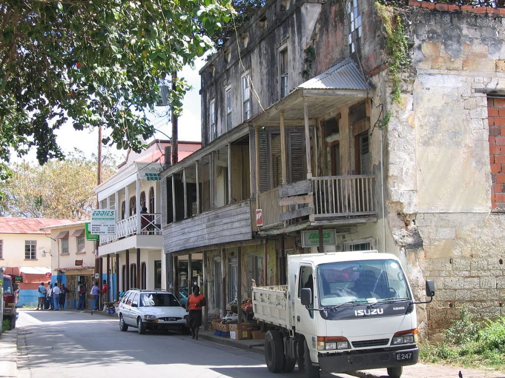 speightstown rickety fishermans shacks and old weather beaten houses