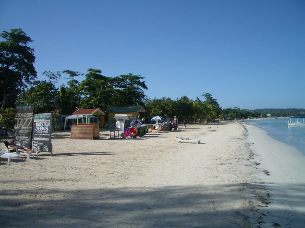 Things to do in Jamaica. Walk 7-Mile Beach Negril
