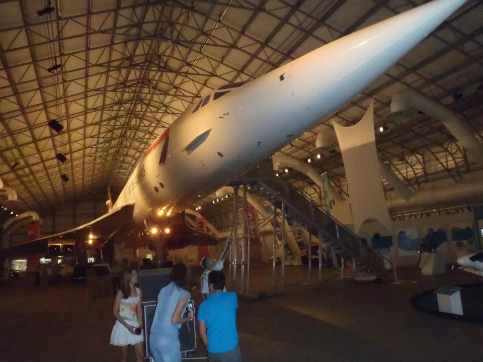 Barbados Concorde Museum.