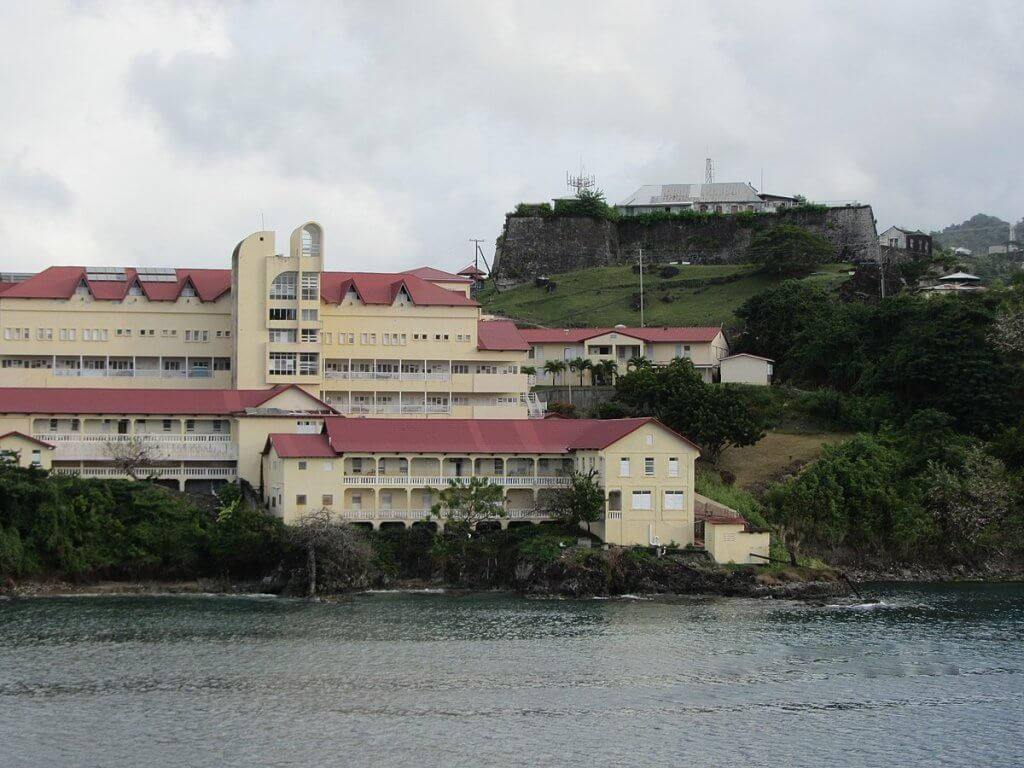 Things to do in Grenada: St George Hospital and Fort George