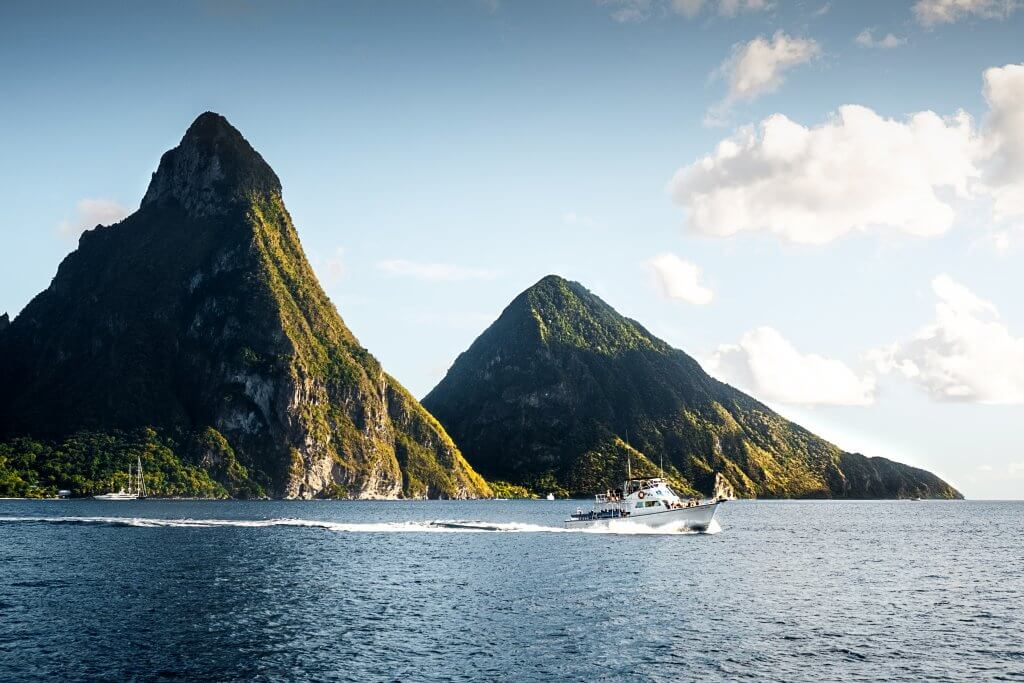 things to do in st lucia: climb the pitons