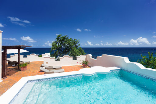 Cap Maison Ocean View Villa Suite with Pool and Terrace
